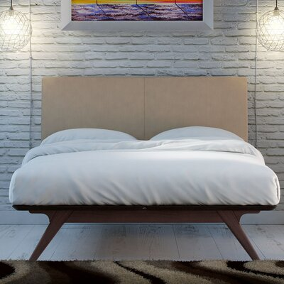 Modesto Upholstered Platform Bed Upholstery: Cappuccino Latte, Size: King