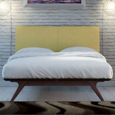 Hannigan Upholstered Platform Bed Size: Full, Color: Cappuccino Green