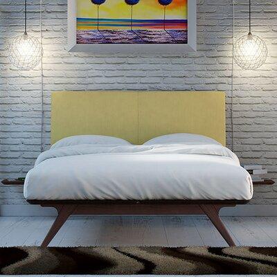 Modesto Upholstered Platform Bed Finish: Green, Size: Full/Double