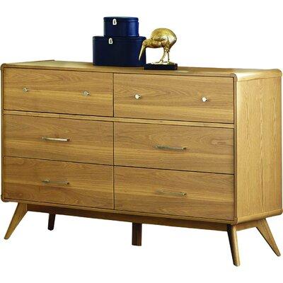Garvey 6 Drawer Double Dresser