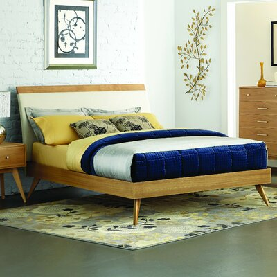 Garvey Upholstered Platform Bed Size: California King