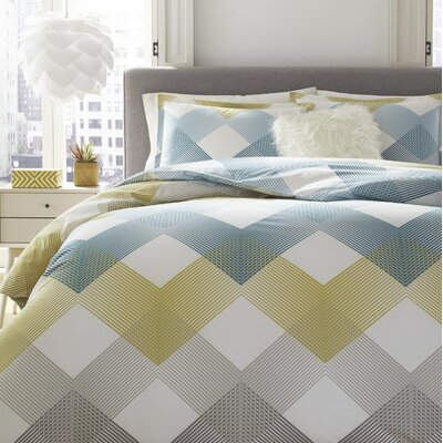 Blick Reversible Duvet Set Size: Twin