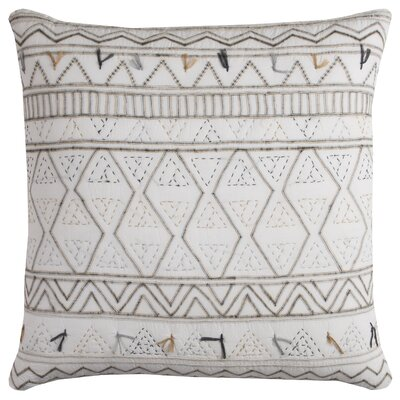 Fancy Cotton Throw Pillow
