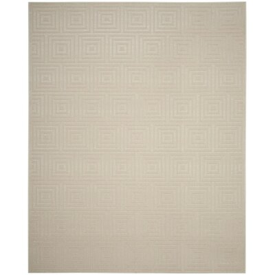 Candor Beige Outdoor Area Rug Rug Size: Rectangle 53 x 77