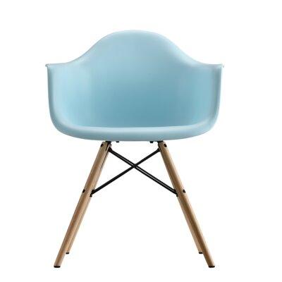 Whiteabbey Molded Barrel Chair Upholstery: Blue