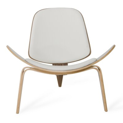 Kellen Lounge Chair Upholstery: White