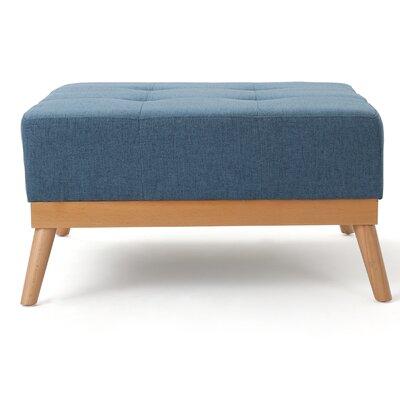 Devils Churn Ottoman Upholstery: Blue