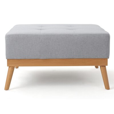 Devils Churn Ottoman Upholstery: Light Gray