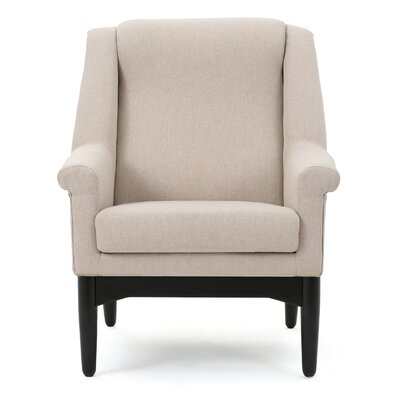Cuyler Armchair Upholstery: Wheat Cream
