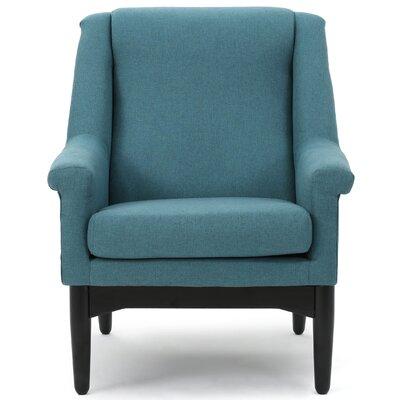 Cuyler Armchair Upholstery: Teal