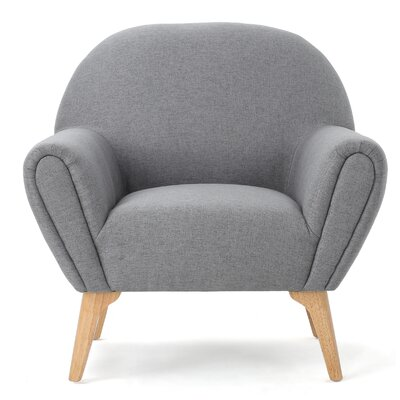 Aghaboy Arm Chair Upholstery: Gray
