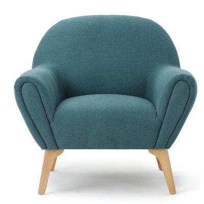 Aghaboy Armchair Upholstery: Dark Teal