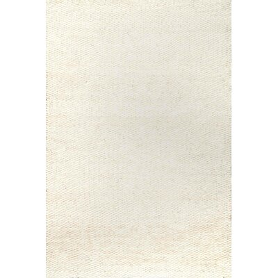 Diskirt Hand-Woven Bleached Area Rug Rug Size: Rectangle 8 x 10