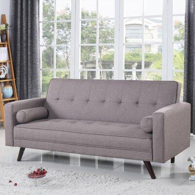 Santa Clara Sleeper Sofa Upholstery: Brown