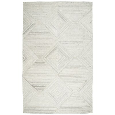 Yucca Place Hand-Tufted Ivory Area Rug Rug Size: Rectangle 5 x 8