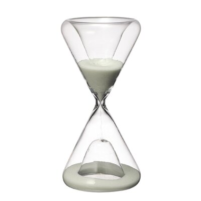 Sand Hourglass Color: White