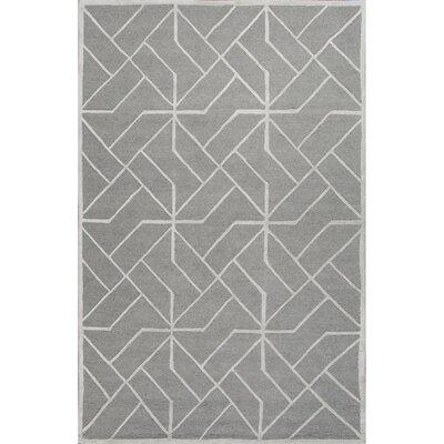 Temecula Gray/Ivory Rug Rug Size: 5 x 8