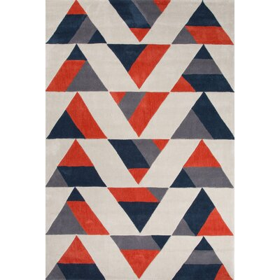 Langley Street Stephanie Tan Geometric Area Rug