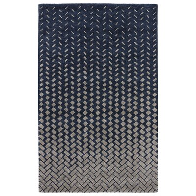 Duanesburg Hand-Tufted Drizzle/White Swan Area Rug Rug Size: Rectangle 2 x 3