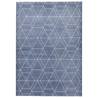 Presley Smoke Blue/Simply Taupe Area Rug Rug Size: Rectangle 2 x 311