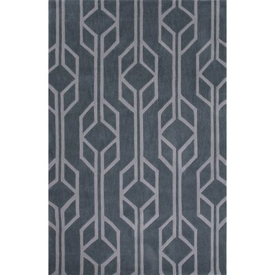 Stephanie Polyester Hand Tufted Blue Area Rug Rug Size: 2 x 3
