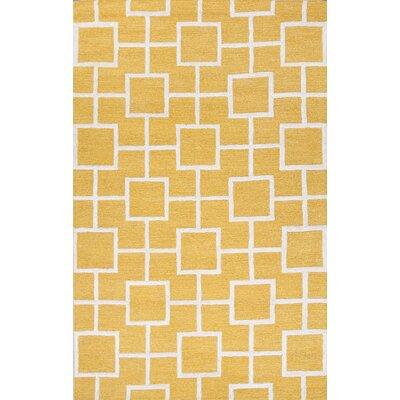 Adelyn Yellow & Ivory Area Rug