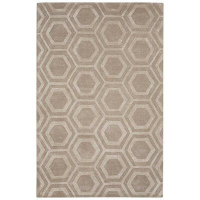 Adelyn Hand-Tufted Ivory/White Area Rug Rug Size: 2 x 3