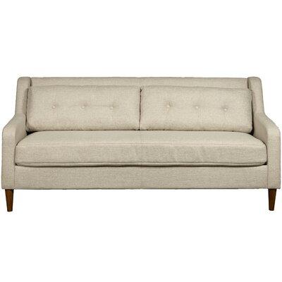 Ponderosa Mid Century Sofa Color: Cream