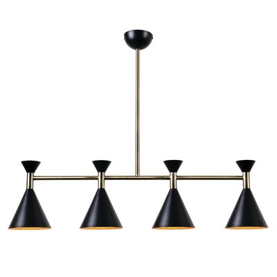 Yorba 4-Light Kitchen Island Pendant