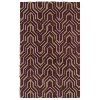Edinburg Plum Area Rug Rug Size: Rectangle 8 x 11