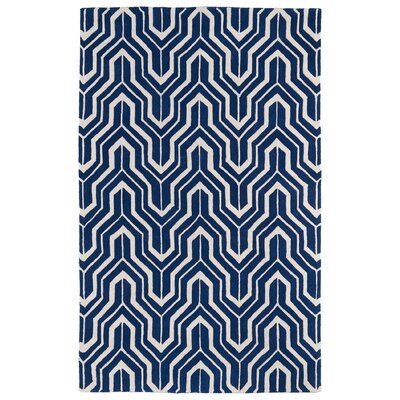 Edinburg Navy Area Rug Rug Size: 2 x 3