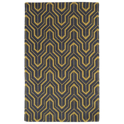 Alsmith Yellow/Green Area Rug Rug Size: 9'6