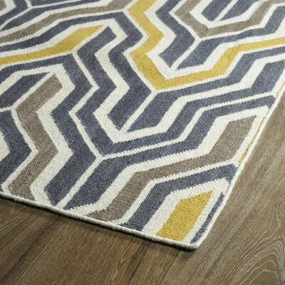 Altaire Lake Geometric Area Rug Rug Size: Rectangle 9 x 12