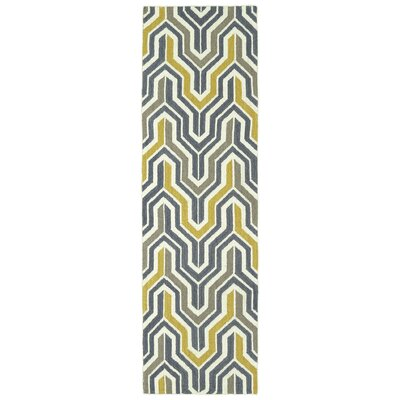 Altaire Lake Geometric Area Rug Rug Size: Runner 2'6