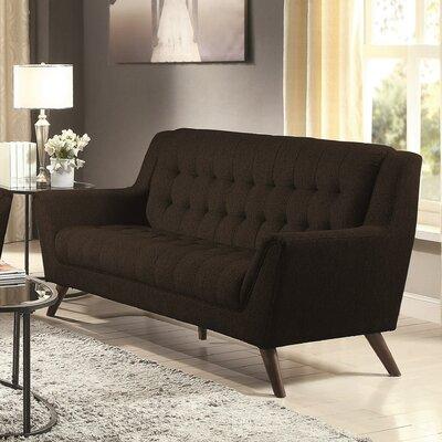 Alvinholmes Sofa Upholstery: Black
