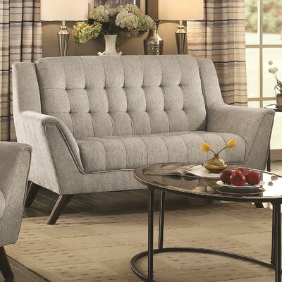 Alvinholmes Loveseat Upholstery: Dove Gray
