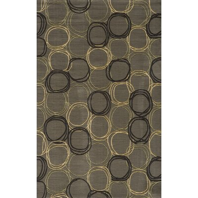 Mable Creek Gray Area Rug Rug Size: 8 x 11