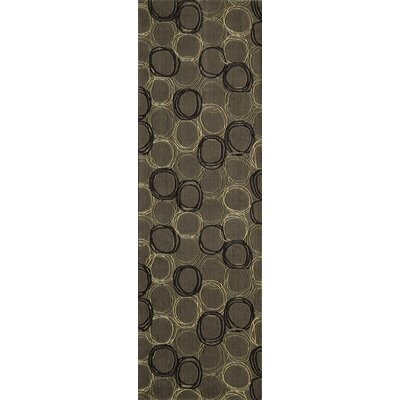 Mable Creek Gray Area Rug Rug Size: Runner 26 x 8