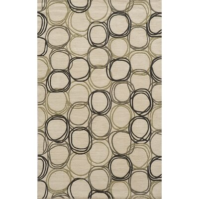 Mable Creek Ivory Area Rug Rug Size: 5 x 8