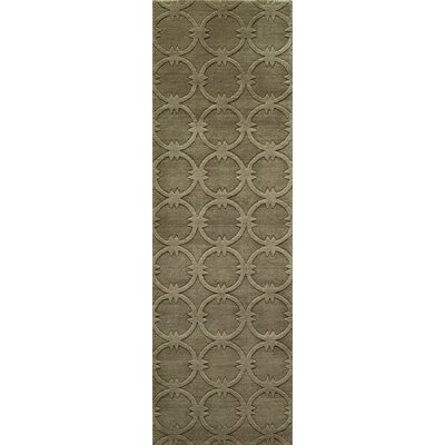 Amacker Hand-Woven Sage Area Rug Rug Size: Rectangle 9'6