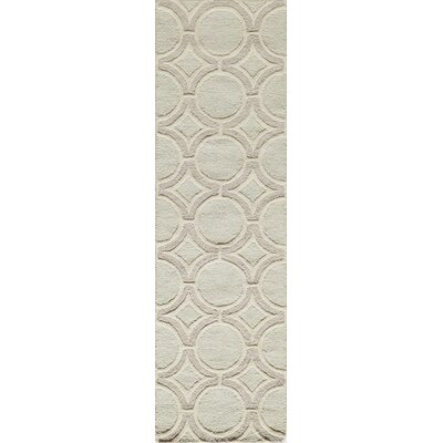 Marceline Hand-Tufted Sage Area Rug Rug Size: Rectangle 76 x 96