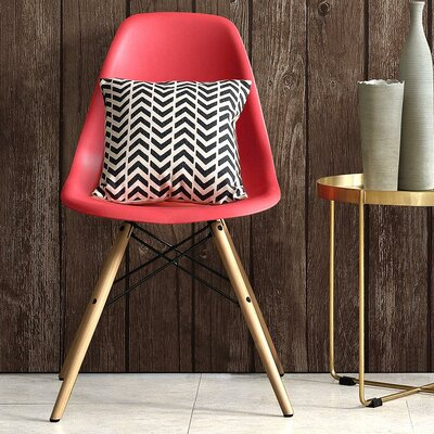 Whiteabbey Side Chair Color: Red