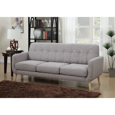 Christopher Sofa Upholstery: Gray