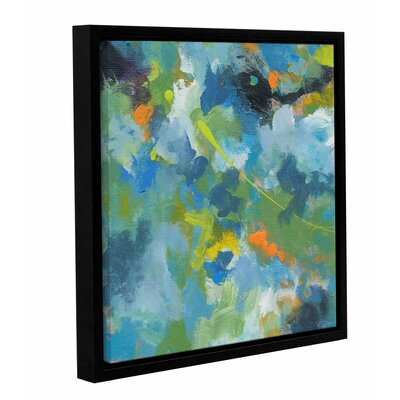 'Rainforest' by Jan Weiss Framed Painting Print