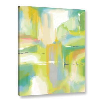 'Desert Modern 3' by Jan Weiss Painting Print on Wrapped Canvas