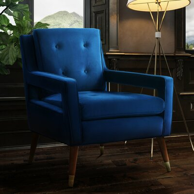 Alverstone Velvet Arm Chair