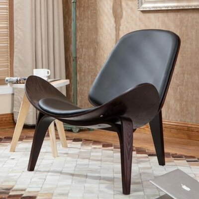 Petra Shell Wing Lounge Chair