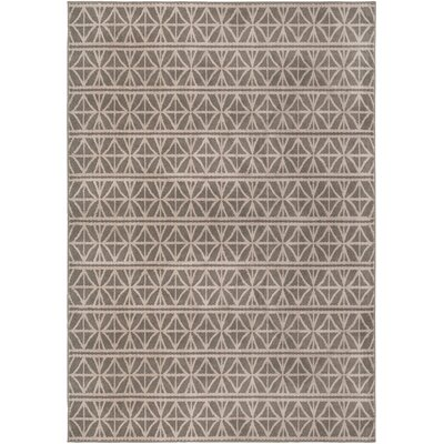 Katia Lattice Grey Area Rug Rug Size: 67 x 96