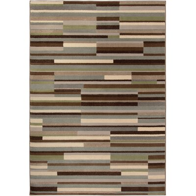 Katia Gray/Beige Area Rug Rug Size: Rectangle 310 x 55