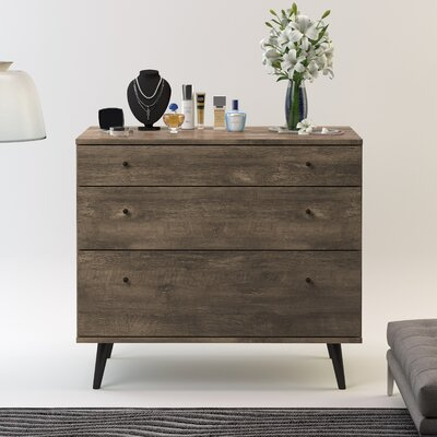 Langley Street Norloti 3 Drawer Dresser